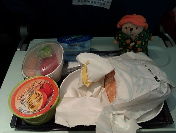 CX 的爛飛機餐