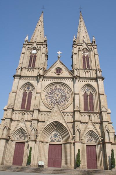 廣州一德路 石室教堂