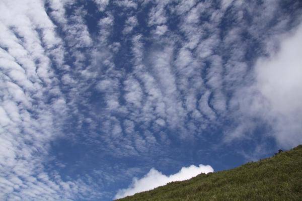 合歡山上的雲彩