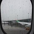 颱風後的雨...