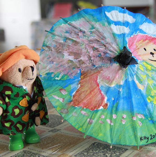2010.3 美濃鎮 客家文物館 紙傘DIY