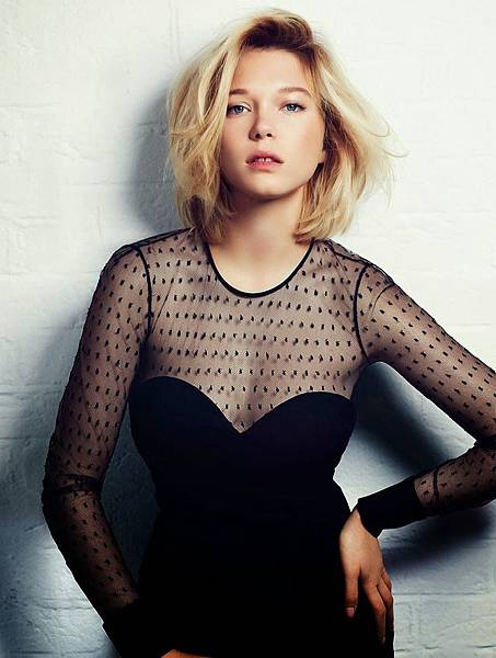 Léa Seydoux by Bruno Dayan for Madame Figaro September 2013 2