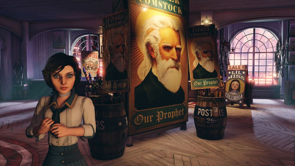 BioShock-Infinite-Elizabeth-and-Father-Comstock