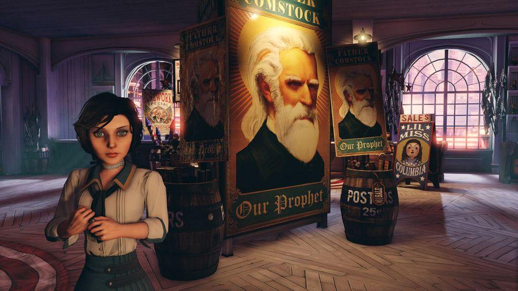 BioShock-Infinite-Elizabeth-and-Father-Comstock