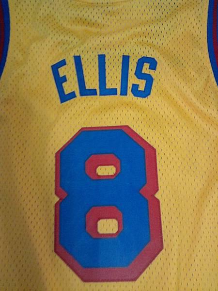 Monta Ellis 背面圖案