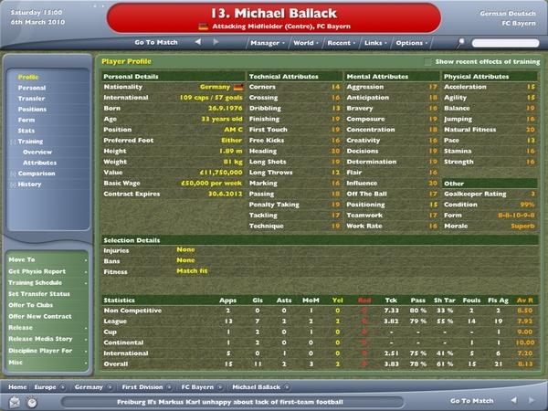 Ballack 33歲