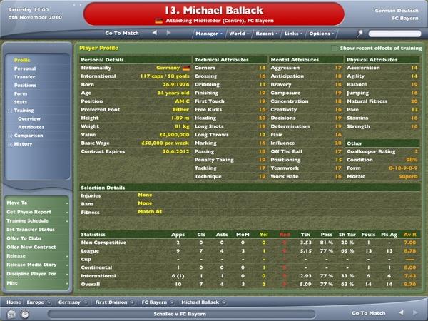 Ballack 34歲