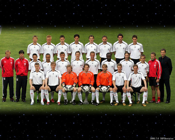 Germany's Squad
