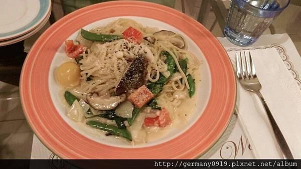 素食菇菇麵