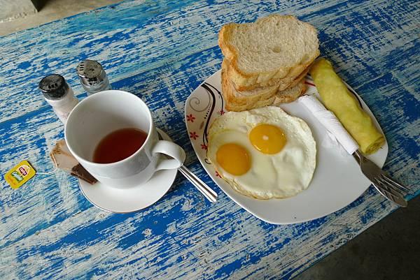 Cycling Hostel Sri Lanka早餐