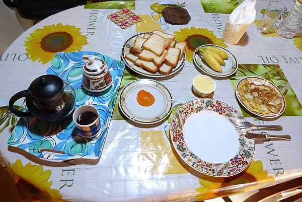 Sunflower Inn 早餐