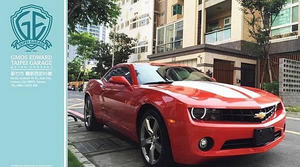 """上圖是台北王大哥委託ge台北車庫代辦進口2010年式Chevrolet Camaro外匯車 相信各位朋友們對這台車並不陌生 ,他就是電影變形金剛裡的""""大黃蜂""""Chevrolet Camaro RS 不管是車迷、影迷只要在路上看到Camaro一定會被他獨特的外型及霸氣吸引而多看兩眼~"""