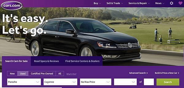 外匯車尋車網站cars.com