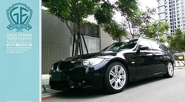 Bmw e91 335i touring 黑
