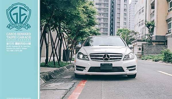 12年式 BENZ C250 AMG 白#05384售價112萬