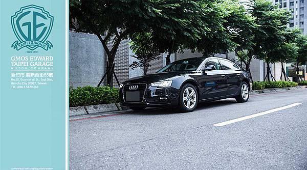 2011年小改款後的奧迪A5 Sportback在水箱罩中以六角盾形的輪廓取代原先的倒梯形造型,同時一旁的頭燈也更為銳角有型,並且於其中植入LED導光條作為LED晝行燈,讓整體科技質感向上提升。  頭尾都能展現Audi引以為傲的LED照明技術,也讓A5 Sportback在擁有優雅線條的同時,也能帶著濃厚的科技質感。