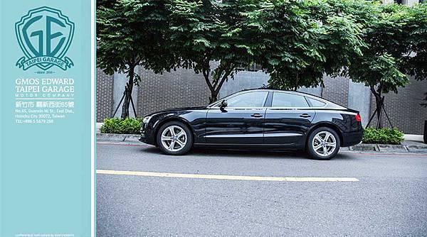 奧迪A5 Sportback同樣也採5門斜背式設計,擁有比典型4門Coupé更高的置物實用性,搭配帥氣時髦的無窗框車門,展現Coupé般的個性與魅力。