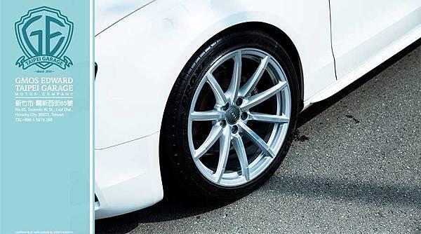 B8.5 RS4 原廠19吋鍛造圈 增加了Audi S5 外觀上面的霸氣!!