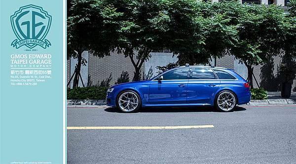 14年式 AUDI奧迪RS4 五門旅行車 台灣總代理一手車 低哩程 售價350萬!!!蝴蝶椅.Akrapovic 蠍子管.REVO晶片.HRE S101 3片鍛造圈等多項夢幻逸品喔。 這款14年式 AUDI奧迪RS4 五門旅行車是新北車友忍痛割愛出售的車款。