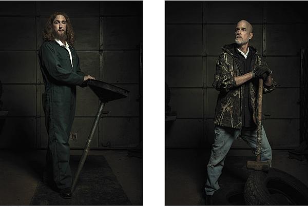 美國攝影師 Freddy Fabris 把修車廠的畫面變成文藝復興幽默畫面!!真的超厲害的!