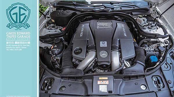小編先介紹賓士CLS63 AMG 五門旅行車(Shooting Brake)引擎規格