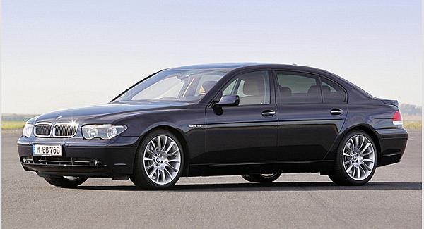 E65~E68 7 Series  堪稱是有史以來最為成功的7 Series,外型設計在BMW設計總監Chris Bangle主導之下,第4代7 Series外觀起了車系歷史中前所未見的大幅度變化,不論是頭燈組、雙腎水箱護罩、引擎蓋、前保桿或是車側鈑件,都捨棄過去的平直剛毅,轉成以大量的弧面所構成,在小改款之前,獨特的車尾設計更是成為此代7-Series最具話題性的焦點。