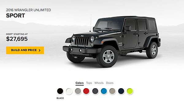 吉普車Jeep價格.車款性能介紹