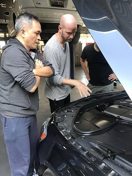 美國賓士改裝廠GE台北車庫協助客戶改裝愛車S63
