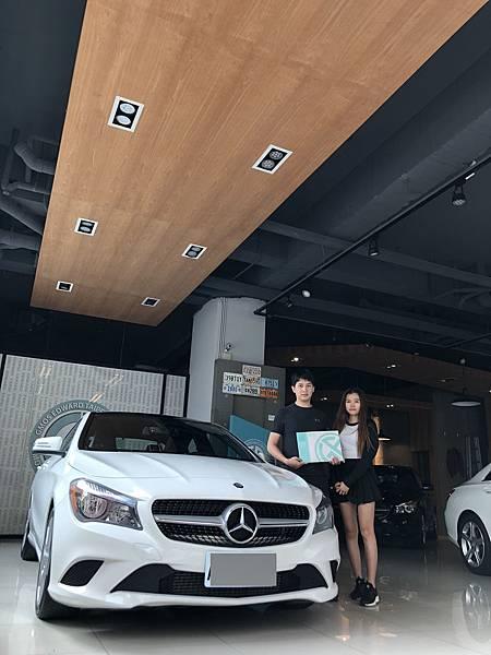 賓士CLA250,GE台北車庫可以協助您團購外匯車從美國運回台灣