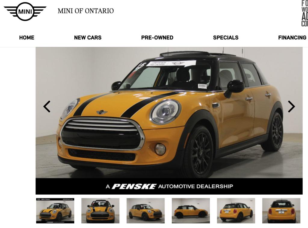 5. 2015 Mini Cooper 1.5L 4門版,CPO認證車、全景天窗、LED頭燈、LED霧燈、harman:kardon音響、跑車座椅、雙區恆溫空調、皮椅、定速,$99萬.png