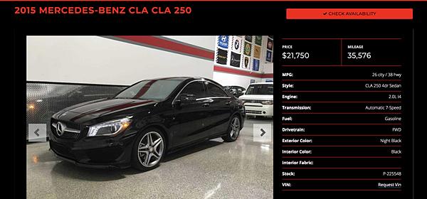 2015年賓士CLA250美國CPO原廠認證