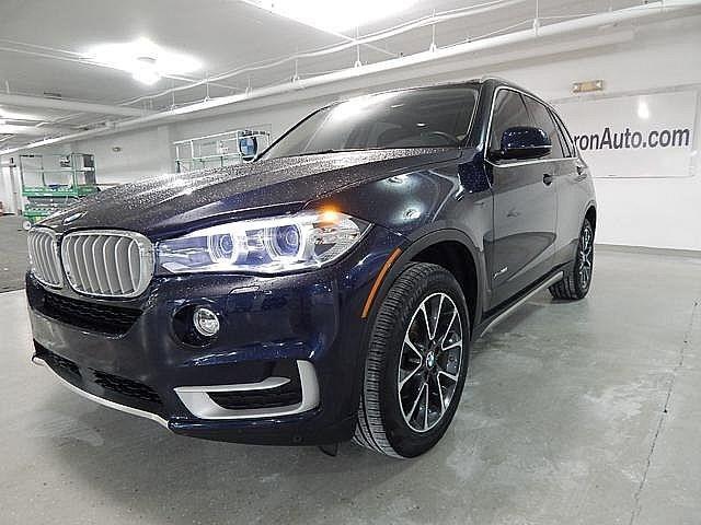 美規外匯車團購車型16 BMW X5 35ixDrive,車身外深藍內深駝色,7人座 X-Line版 4.7萬英里,$209萬