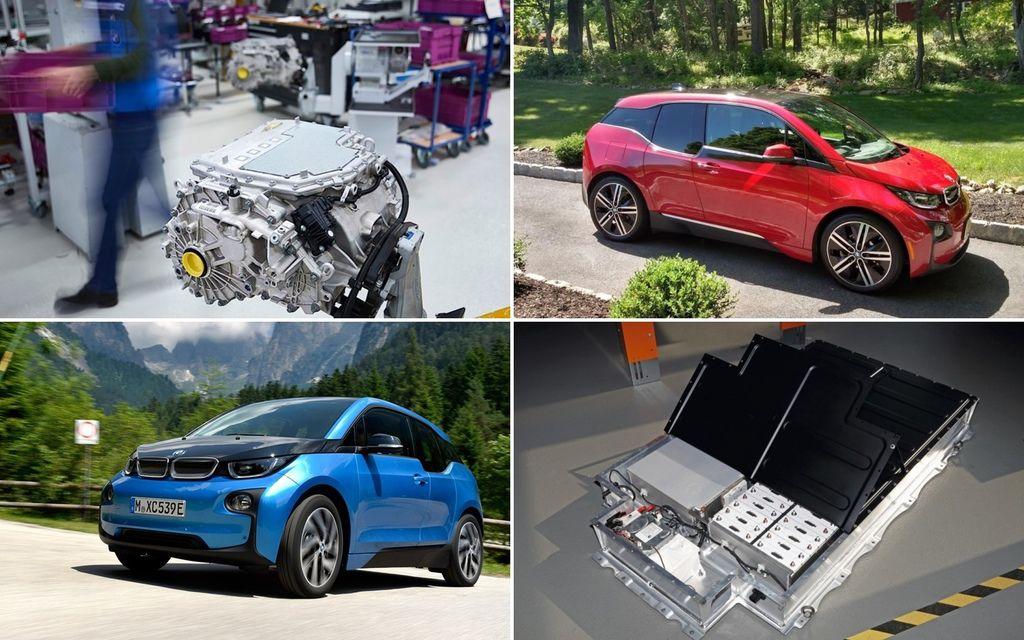 BMW i3-BMW i3 REX 增程版汽油式的增程式內燃機可以加9公升95無鉛汽油