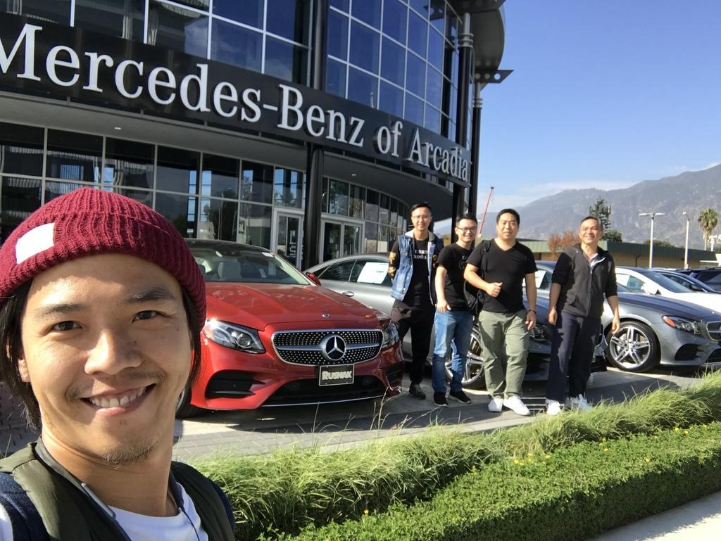GE美國團隊在BENZ原廠 Arcadia,親自為您的愛車把關