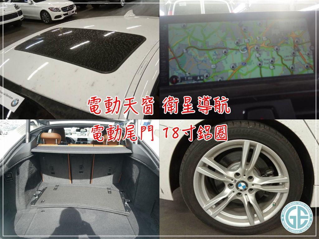 美規外匯車BMW428iGC M SPORT配備  M版運動套件、電動天窗、衛星導航系統、電動腳踢感應尾門、18寸鋁圈、HID氙氣頭燈、倒車攝影