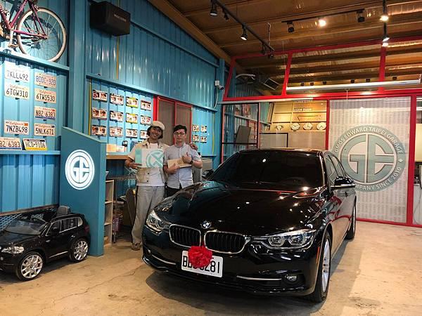 自辦手排bmw 328價格120萬並給ge台北車庫好評價.jpg