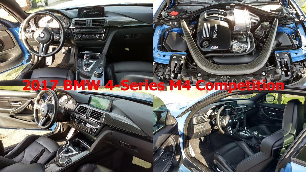 2017 MW M4 雙門跑車,擁有2.810mm超越同級競爭者的軸距,讓駕駛或是乘客都能更為舒適的乘坐體驗,還搭配6/4可分離可拆式後坐椅背,可以輕鬆放置大型物品。  近50:50 車身配重與經典BMW經典後輪驅動駕駛魅力,提供絕佳的操控性和彎道表現,並且搭載Steptronic運動化八速手自排變速箱,綿密順暢的換檔齒比能持續傳遞豐沛動能,同時優化油耗表現,另外EPS電子動力轉向系統、鋁合金懸吊,讓駕乘者在各種速度下都能擁有最流暢的操控體驗。