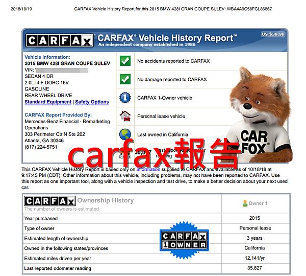 那為什麼會對想要購買外匯進口車的朋友推薦GE台北車庫呢?因為只要是GE台北車庫進口的車款,在車況的部分都會要求檢附上CarFax、AutoCheck報告,確定車況是可以販賣的,想知道什麼是AutoCheck報告和Carfax報告嗎?以及美國原廠CPO 認證報告做了什麼檢測!查詢Autocheck & carfax報告教學分享,提供中文Carfax&Autocheck查詢服務