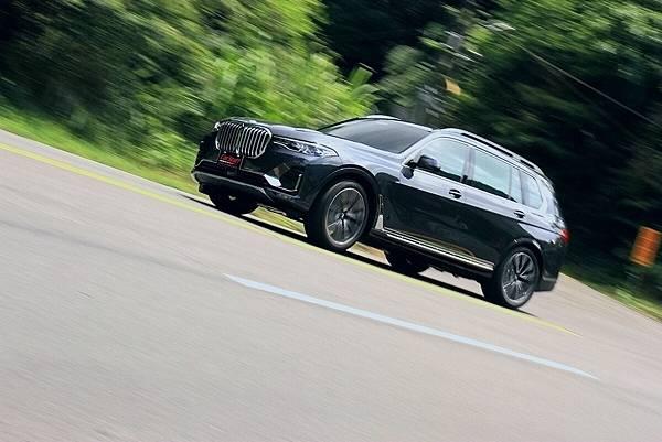 2019 BMW  X7 試乘心得