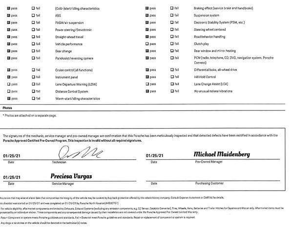2019年 保時捷cayman 原廠認證車cpo原廠認證報告