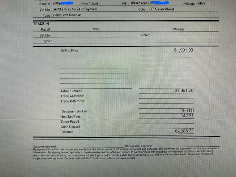porsche 2019年718 cayman外匯車,進口回台灣關稅需要繳多少費用,台灣車測費用多少呢