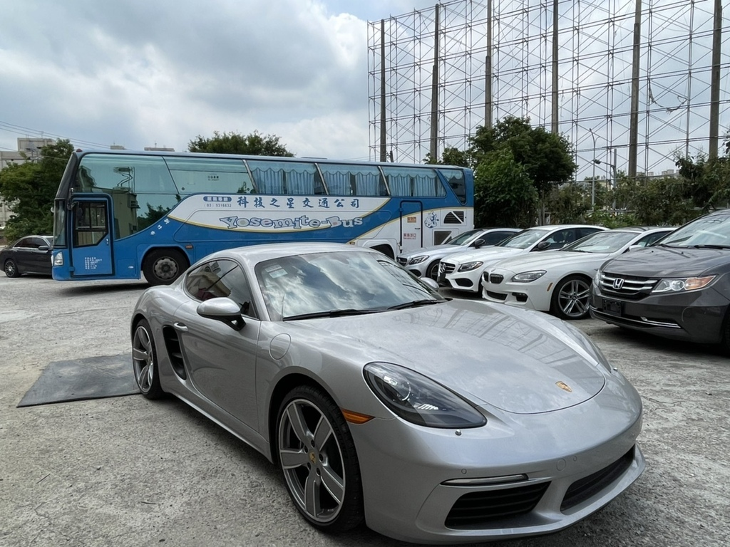 美國保時捷718 cayman 外匯車進口回台灣關稅費用計算,車輛測試費用估價,porsche維修保固費用