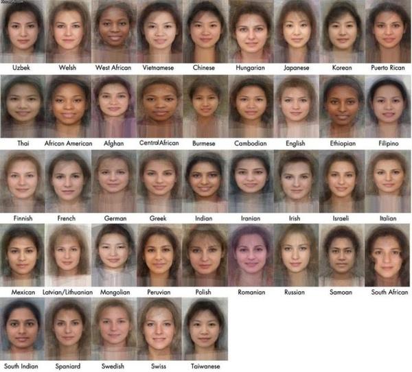 台灣臉女孩 明日之臉 展覽展出各國的大眾臉女孩!