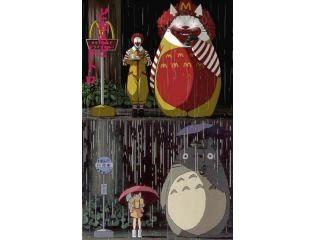 龍貓 麥當勞版VS.原版。