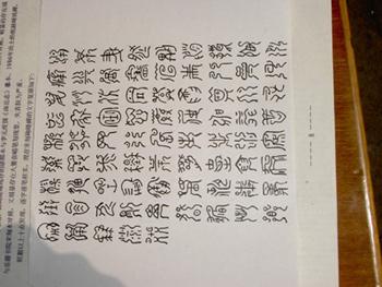 四川 蝌蚪文 天書 形如蝌蚪故被稱為「蝌蚪文」
