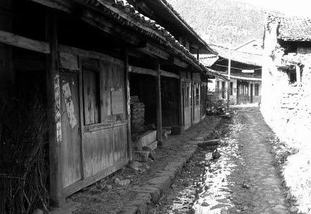中國鬼村 羅垟村 五六百年歷史的古老村落