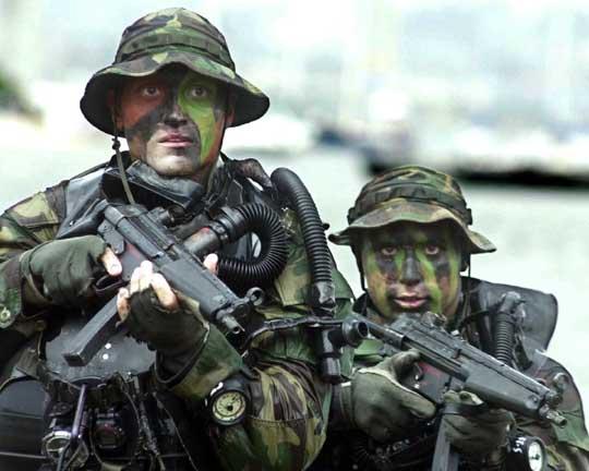 海豹 仰臥起坐 陸戰隊