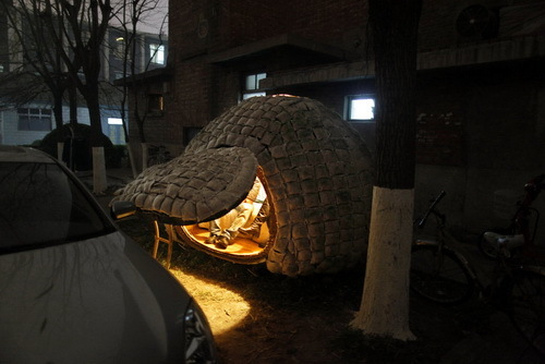 北京 蛋形蝸居 蛋型的小窩