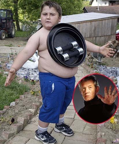 「克羅埃西亞 萬磁小胖」 伊凡頗有少年萬磁王的架勢!