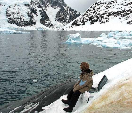 無敵美景好廁所 在南極一邊「嗯嗯」、一邊欣賞千里冰封的 極地風景。讚吧?